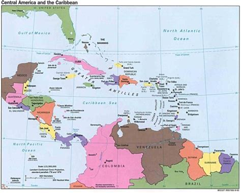 map of us and caribbean islands mapa pol 237 tico de am 233 rica pa 237 ses de am 233 rica norte y