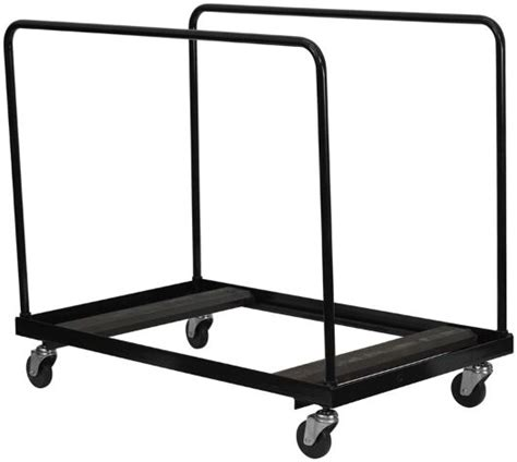 lifetime heavy duty table cart 60 quot folding table storage and transport truck