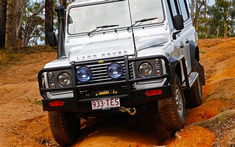 Construction Wall Stickers outback bull bar steel suit landrover defender 110 130
