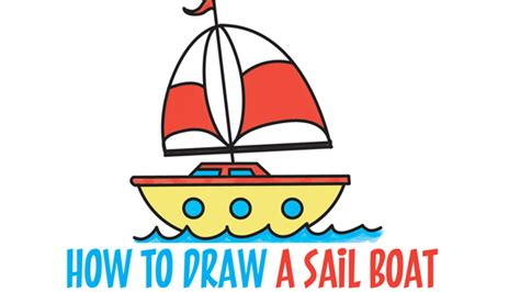 how to draw a boat using shapes drawing things archives how to draw step by step drawing