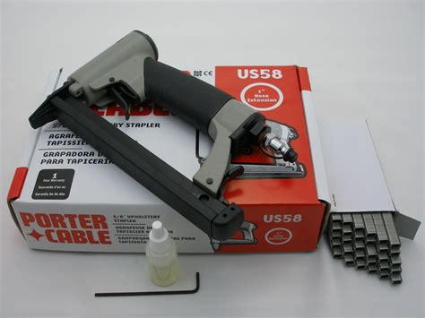Porter Cable Us58 Upholstery Stapler by Porter Cable Us58 Upholstery Staple Gun Inc Staples Ebay