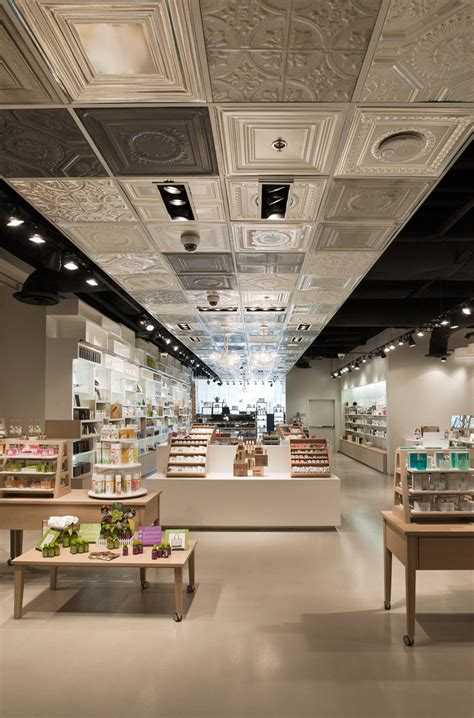 Shop Ceiling Design by Skins 6 2 Cosmetics Shop By Uxus Design