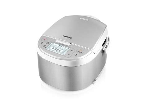 Sale Philips Stainless Rice Cooker Pro Ceramic 2 Liter Hd3128 Pld600 phillips hd3095 87 electric multi cooker stainless steel white todaysdod
