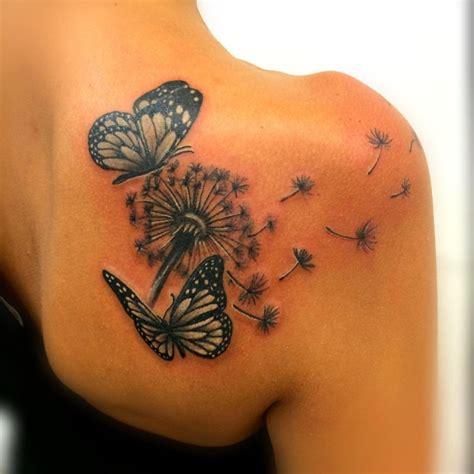 tatuaggio fiore soffione tatuaggio soffione significato e fotogallery