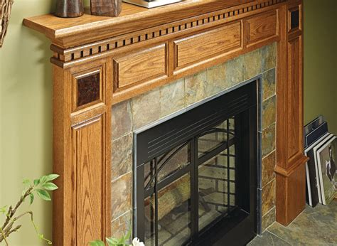 fireplace surround woodworking project woodsmith plans
