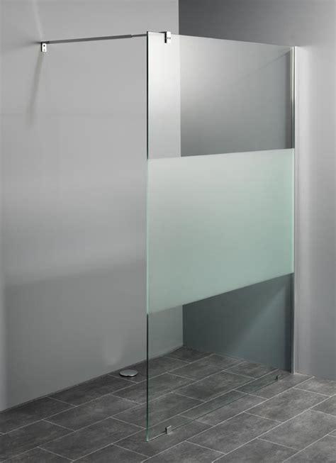 Inloopdouche Zonder Glas by Inloopdouches Met Decorstrook Leverbaar In 9 Afmetingen