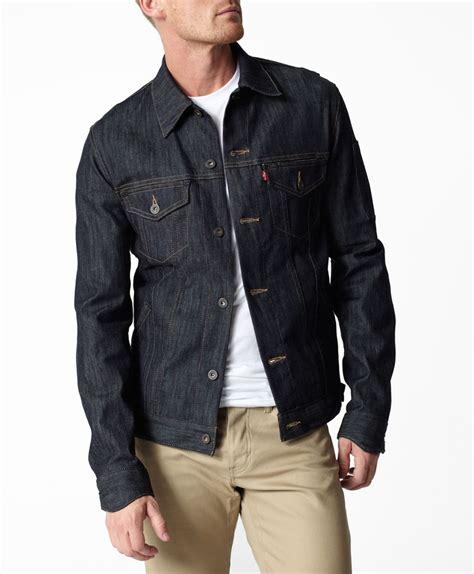 design jacket levis levi s commuter trucker jacket indigo wash slim fit