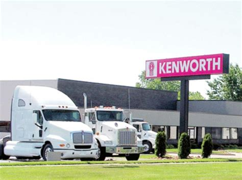 kenworth dealers in michigan eastern michigan kenworth opens service facility