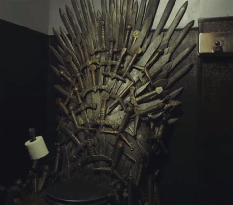 game of thrones iron throne toilet bogazici77 eat your heart out this game of thrones fan has an iron