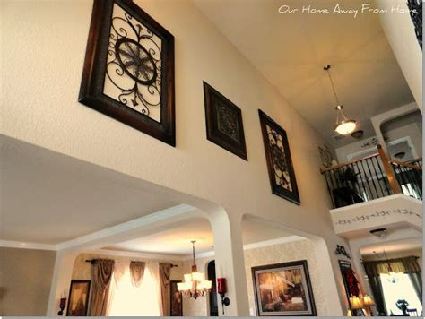 decorating high walls foyer decor for the home pinterest