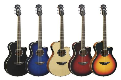 Gitaar Apx Maroon Eq New yamaha apx600 nt guitar factory parramatta