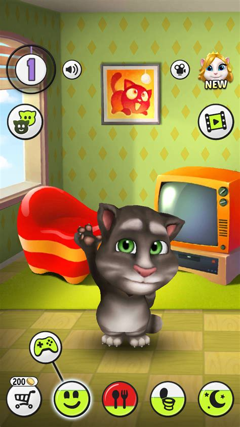 Игры на андроид телефон кот том