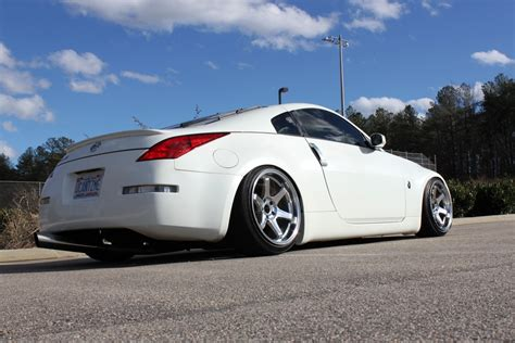 stanced nissan feature david whitley s stanced nissan 350z