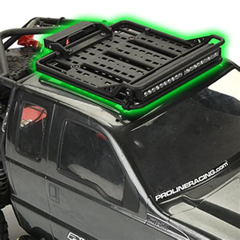 off road racks pro line overland scale roof rack adds off road adventure detail