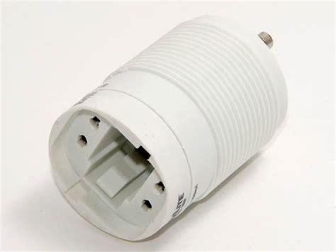 self ballasted l adapter maxlite self ballasted gu24 adapter for 18 watt plug in