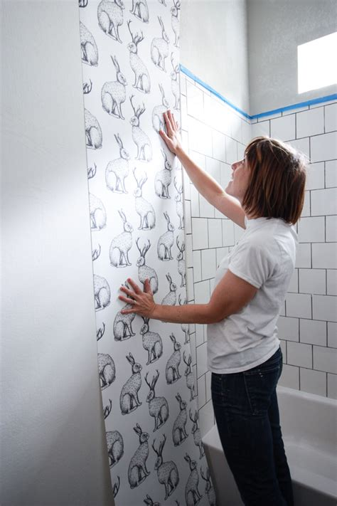 How Much To Re Skim A Room by Jackalope Wallpaper Bathroom Diy Smooth Textured Walls