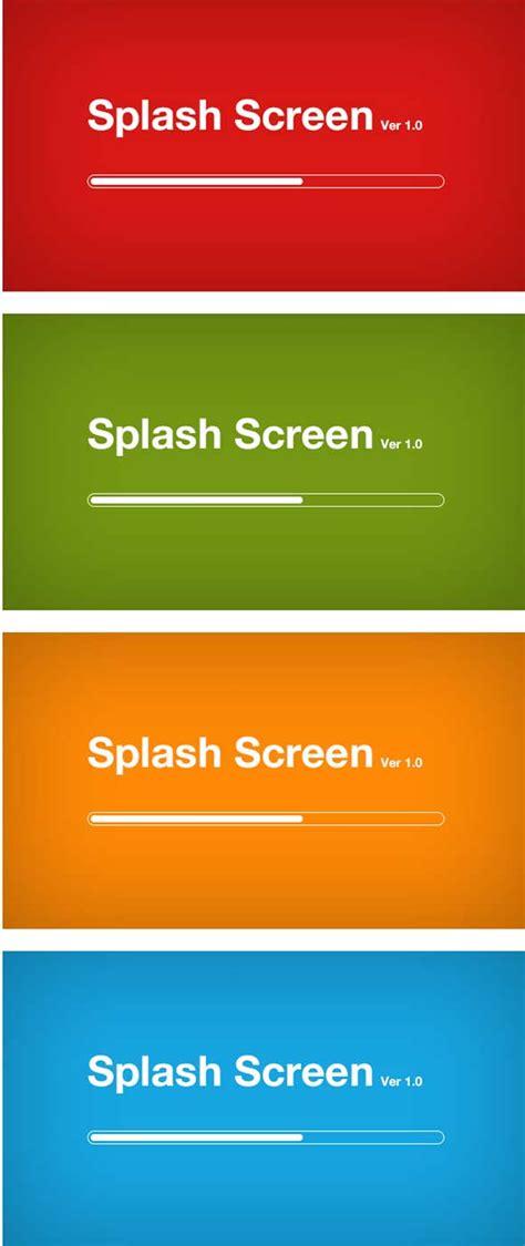 mobile splash screen templates best free splash mobile screen design psd designmaz