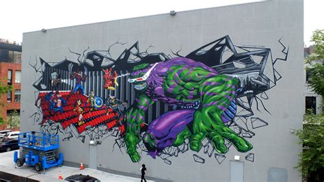 graffiti world street art worldwide amazing superhero graffiti street art