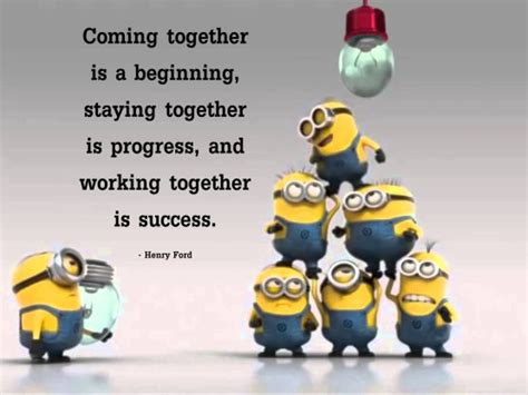 Team Work Meme - minions teamwork memes