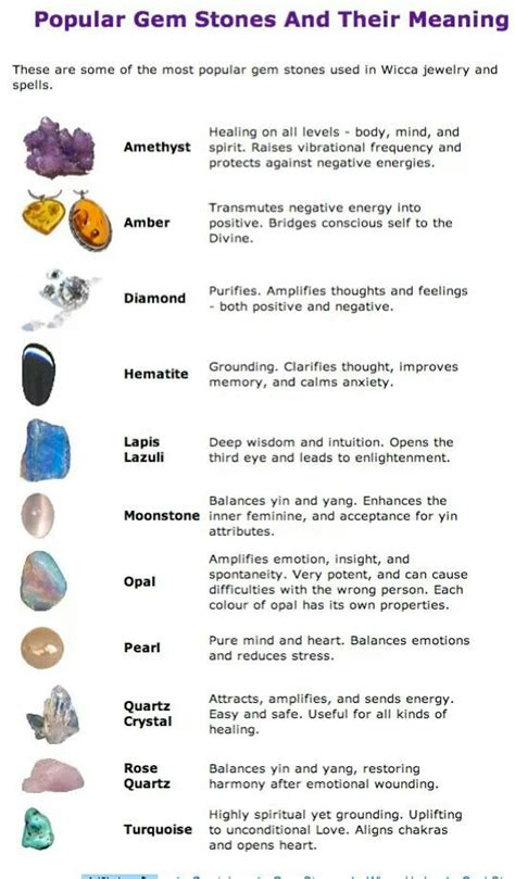 their meanings gem stones and their meanings energy gems