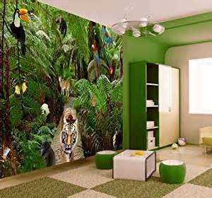jungle wallpaper mural amazon co uk kitchen amp home amazon wall murals related keywords amp suggestions amazon