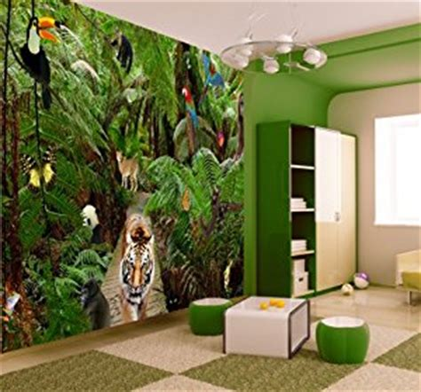 rainforest bedroom rainforest bedroom forest bedroom wallpaper jungle wallpaper mural amazon co uk kitchen home