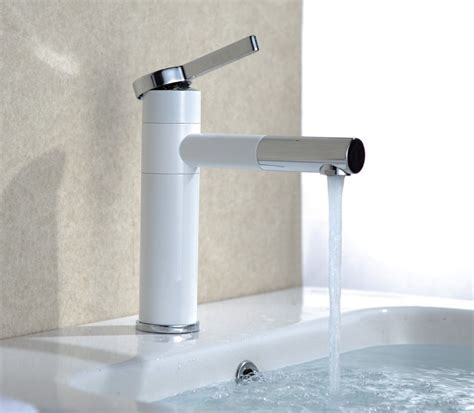 White Shower Faucet by Aliexpress Buy Free Shipping White Color Basin Tap