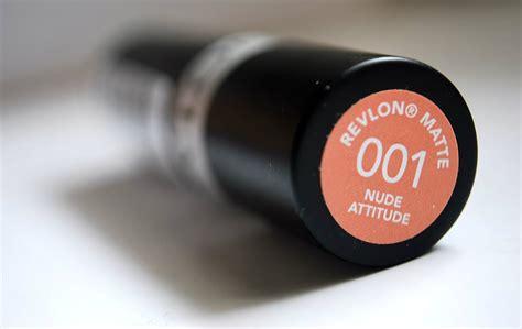 Lipstik Matte Revlon Indonesia impression review on revlon matte quot attitude quot how to make a poor quality lipstick