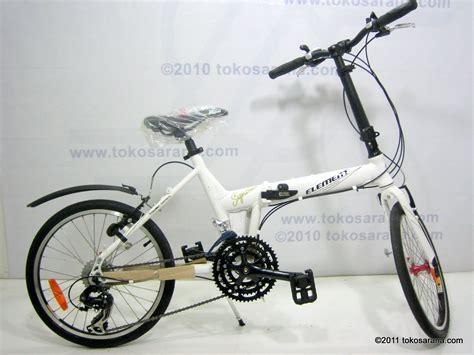 United Lipat 20 Inci Genio Click Folding Bike sepeda lipat element signature 21 speed shimano 20 inci mahasarana sukses tokosarana jakarta