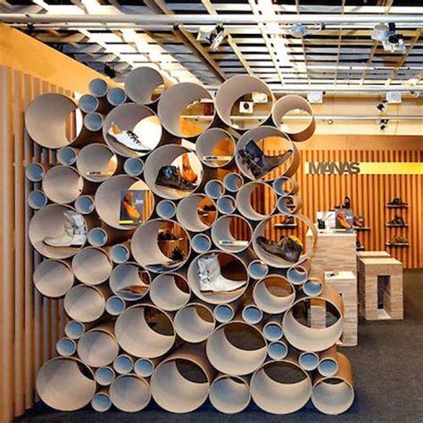 come fare mobili di cartone espositore tubo 55100