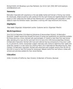cover letter for moving to a new city professional relocation specialist templates to showcase