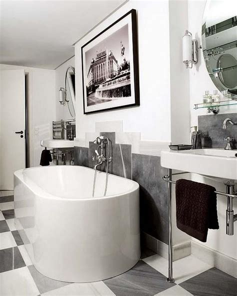 contemporary art deco art deco bathrooms in 23 gorgeous design ideas rilane