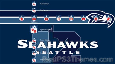 ps4 nfl themes nfl seahawks best ps3 themes