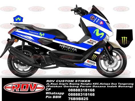 Custom Decal N Max 59 harga motor yamaha nmax tangerang modifikasi yamah nmax