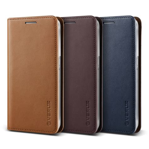 verus genuine leather diary for samsung galaxy note 5