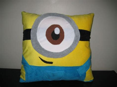 minion pillow bed despicable me minion pillow just down right cute things