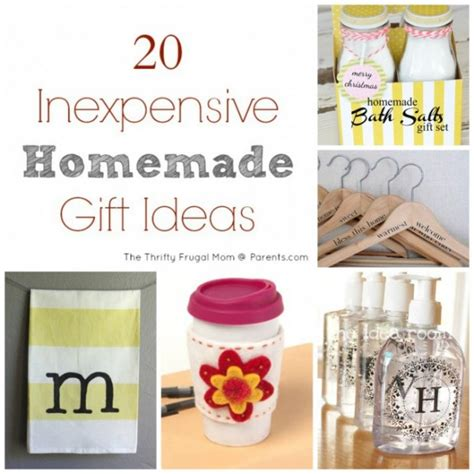 20 inexpensive homemade gift ideas yoocustomize com