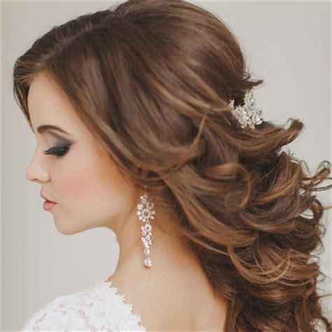 wedding hair tips // half up + half down styles