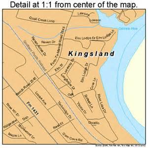 map of kingsland kingsland map 4839304