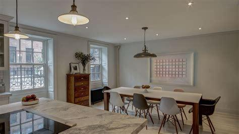 dining room brooklyn brooklyn heights duplex ben herzog architect pc