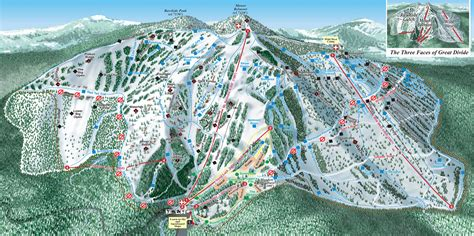 Great Divide by Great Divide Piste Maps