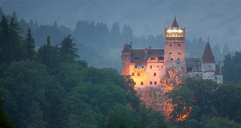 home of dracula castle in transylvania bing wallpaper archive