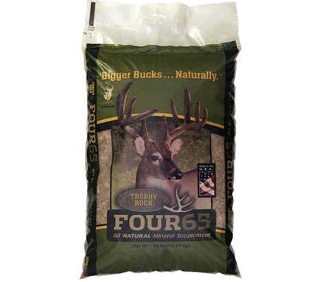 supplement bag trophy rock four65 mineral supplement bag sportsman s