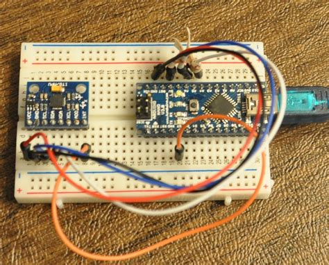 tutorial arduino mpu6050 mpu 6050 dmp data from i2cdevlib geek mom projects