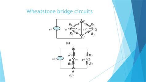 wheatstone bridge kvl lecture 1 basics of electric circuits