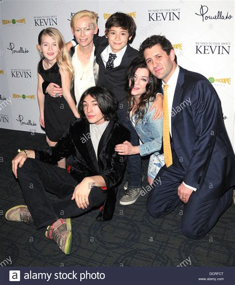 ezra miller tilda swinton ashley gerasimovish tilda swinton jasper newell ezra