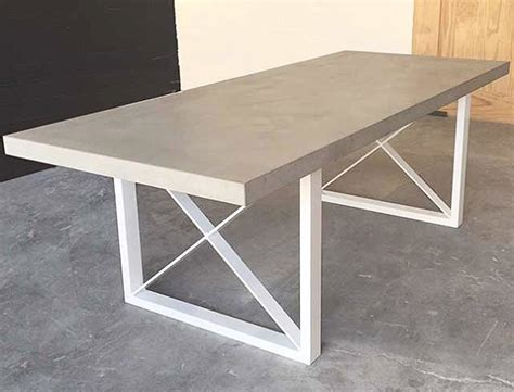 polished concrete table top 25 best ideas about concrete dining table on