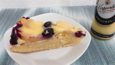 kuchen mit 2 eiern backen apfel blaubeer kuchen mit verpoorten eierlik 246 r guss