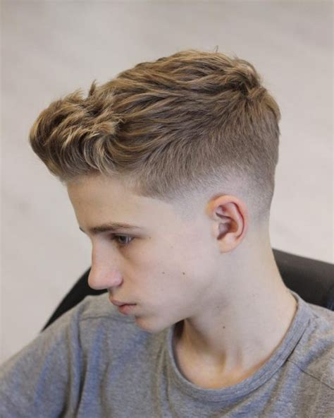 Distinct Weighted Line Haircuts | 49 coolest short haircuts for men in 2018