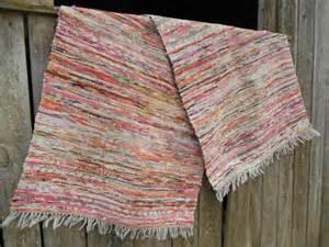 teppich schwedisch schwedische vintage lange rag teppich gewebt flickenteppich